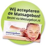 acceptant massagebon, deelname massagebon, de massagebon, ontspannen cadeau, cadeaubon, massage cadeaubon, massage